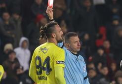 Son dakika | TFFden flaş sarı kart kararı Vedat Muriç...