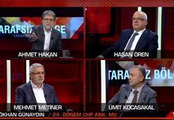 Canlı yayında tansiyon yükseldi Ahmet Hakan CHPli eski vekili yayından aldı
