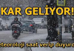 Meteorolojiden son dakika kar uyarısı 23 Ocak hava durumu raporu