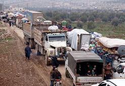 Son dakika... Türkiye sınırına göç 48 saatte 36 bin sivil daha akın etti