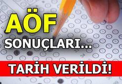 18-19 Ocak AÖF sınav sonuçları bugün açıklanır mı AÖF sınav sonuçları nasıl sorgulanır