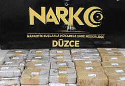 Düzce'de 26 kilo eroine 4 tutuklama