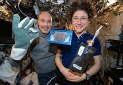 Uzayda pişen ilk yiyecek
