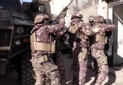 Gaziantepte 710 polisle uyuşturucu operasyonu: 31 gözaltı