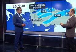 İstanbula kar yağacak mı Bünyamin Sürmeli canlı yayında açıkladı