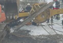 Karla mücadele çalışmasında muhtarın acı sonu