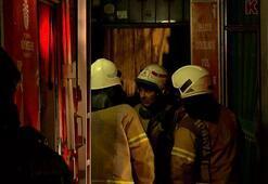 İstanbulda korkutan yangın 12 kişi etkilendi