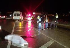 Minibüsün çarptığı 2 kişi hayatını kaybetti