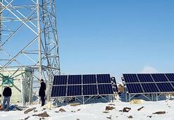 Güneş enerjili baz istasyonu