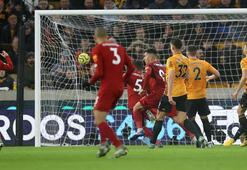 Son dakika...  Liverpool, Wolverhamptonı 2-1 mağlup etti İnanılmaz seri...