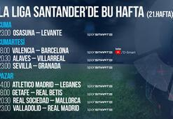 La Liga'da 21. haftada 8 canlı karşılaşma D-Smart ve D-Smart Go'da