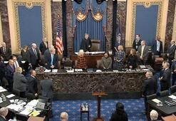 Trumpın Senatodaki azil yargılamasında 3. gün sona erdi