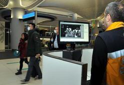 İstanbulda Çinden gelen yolcular termal kameralarla kontrol ediliyor