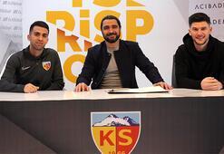 Transfer haberleri | Kayserisporda çifte imza