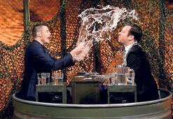 Stüdyoda su savaşı yaptılar