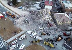 Elazığda gün ağardı İşte deprem bölgesi...