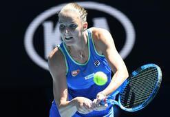 Avustralya Açık Tenis Turnuvasında seribaşı Pliskova elendi