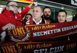 Galatasaraya Konyada sevgi gösterisi