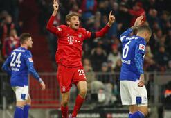 Bayern Münih sahasında Schalke 04ü rahat yendi