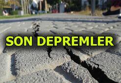 Deprem mi oldu Son depremlere nerede oldu AFAD ve Kandilliden son depremler listesi