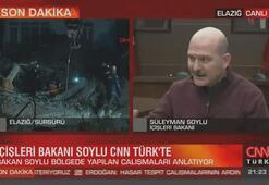 Bakan Soylu CNN TÜRKte Elazığda yaşananları anlattı