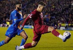 FA Kupasında Liverpool, 3. lig ekibi Shrewsbury Town ile berabere  kaldı