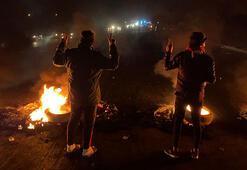 Bağdatta iki gösterici gerçek mermiyle öldürüldü