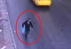 İstanbulda kapkaç yapan şüpheli kamerada