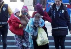 Hırsızlıktan yapan 2 kadın, cezaevine çocuklarıyla gitti