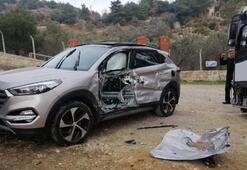 Midibüs ile cip çarpıştı 3 kişi yaralandı