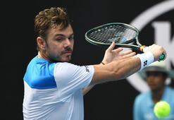 Eski şampiyon Wawrinka, 4 numaralı seribaşı Medvedevi eledi