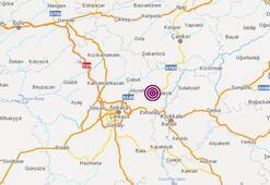 Son dakika | Ankarada peş peşe depremler Son depremler listesi