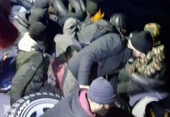 Bodrum açıklarında 40 kaçak göçmen yakalandı