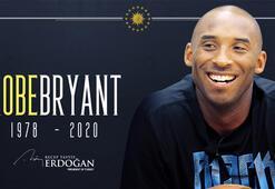 Son dakika... Cumhurbaşkanı Erdoğandan Kobe Bryant paylaşımı