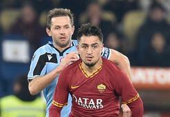 Roma derbisinde Cengiz Ünder maçın oyuncusu seçildi