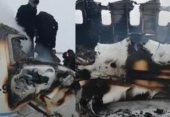Afganistanda düşen uçakla ilgili resmi açıklama