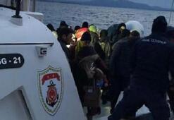Tam 129 göçmen yakalandı