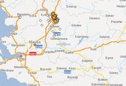 Son dakika | Manisada 5.1 büyüklüğünde deprem Son depremler listesi