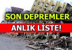Manisa depremi o illerde hissedildi İzmir, Çanakkale, Aydın, Balıkesir, İstanbul sallandı İşte SON DEPREMLER