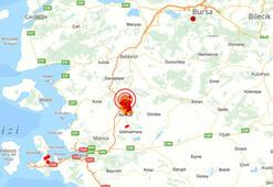 Son dakika Manisada korkutan deprem İstanbul ve İzmirde de hissedildi