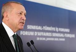 Son dakika haberi... Cumhurbaşkanı Erdoğan: Senegal ile ticaret hedefi 1 milyar dolar