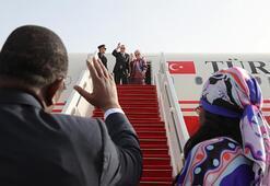Cumhurbaşkanı Erdoğan Senegalden ayrıldı