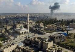 Suriye ordusu İdlibin Maarratünnuman ilçesini Rusyanın desteğiyle ele geçirdi