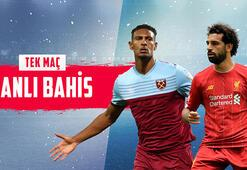 Şampiyonluğa koşan Liverpool, West Ham deplasmanında Kritik maç canlı bahisle Misli.comda...