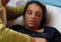 Eşinin dövdüğü kadın, yatağa mahkum kaldı