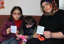 Montun cebinden çıkan not, depremzede aileyi duygulandırdı