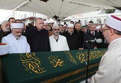 Cumhurbaşkanı Erdoğan, Ahmet Vanlıoğlunun cenazesine katıldı