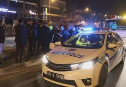 Antalyada zincirleme kaza 5 araç birbirine girdi