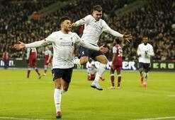 West Ham United-Liverpool maçından en özel anlar...