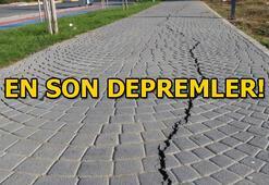 Akdeniz açıklarında peş peşe depremler Son depremler listesi 30 Ocak Türkiye son depremler